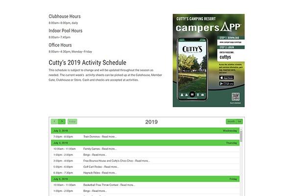 Camper App Integration