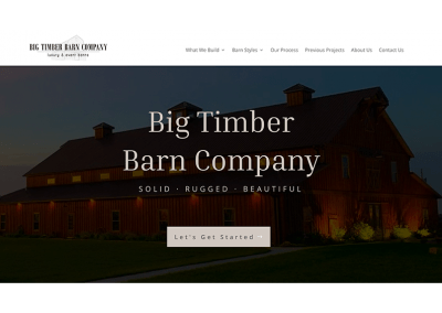 Big Timber Barns