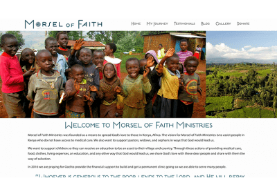 Morsel of Faith Ministries