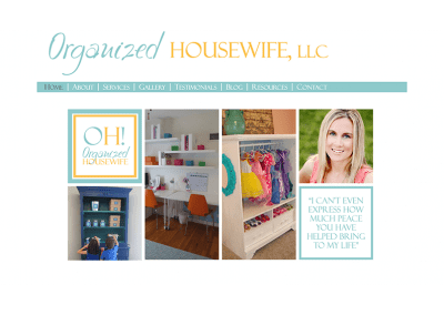 Organized Housewife