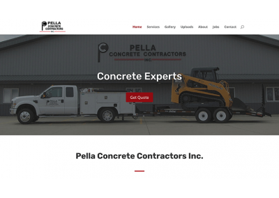 Pella Concrete Contractors